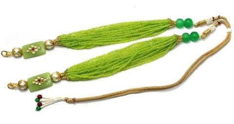 Necklace Dori Parrot Green, Pack Of 1 Pc