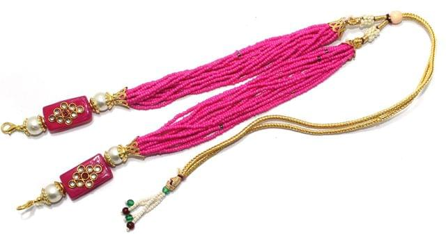 Necklace Dori Magenta, Pack Of 1 Pc