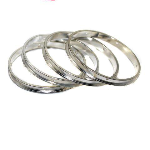 4 Bangle Base Silver 2'4 Inch