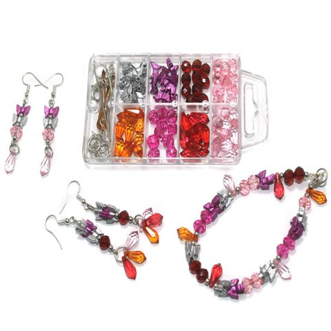 Kids Jewellery Making DIY Beads Kit