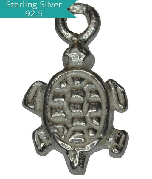 Sterling Silver Turtle Charm, Pack of 5 Pcs