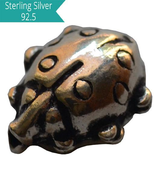 925 Silver Lady Bug Bead