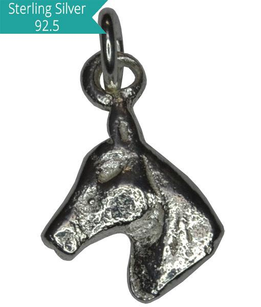 925 Silver Horse Charm, Pack of 5 Pcs.