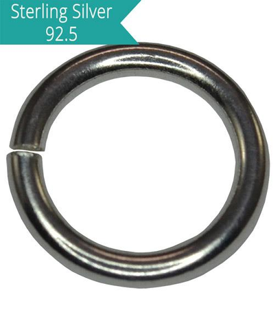 Sterling Silver 10mm Open Jump Ring