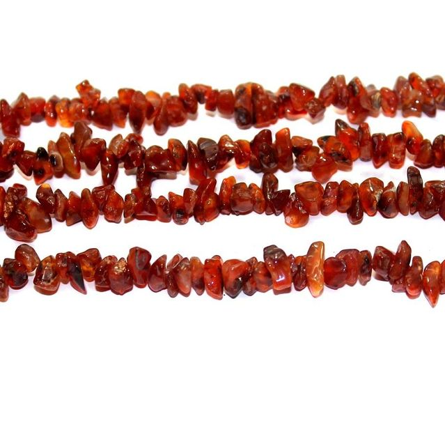 110+ Stone Uncut Beads Garnet 5-8 mm