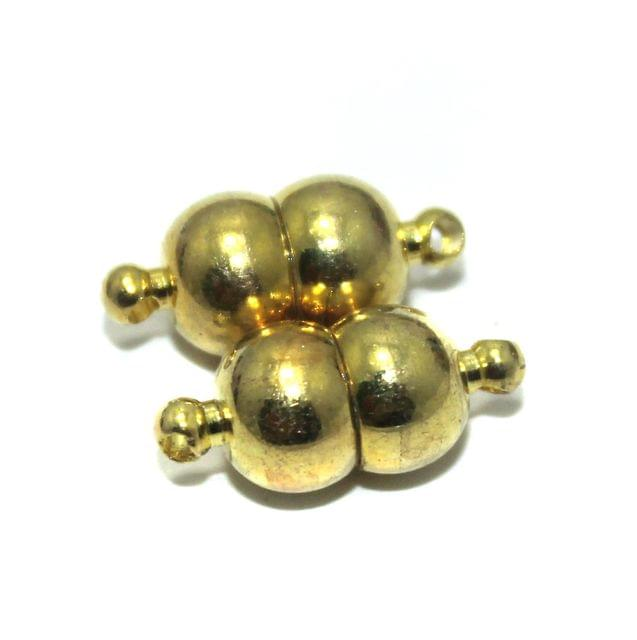 Magnetic Clasps, Size 17x8mm, Pack of 20 Pcs