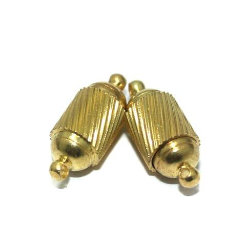 Magnetic Clasps, Size 19.5x8.5mm, Pack of 10 Pcs