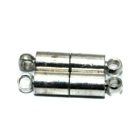 Magnetic Clasps, Size 18x5.5mm, Pack of 20 Pcs