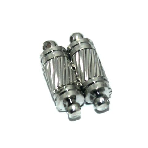 5 Pcs Nickle Magnetic Clasps, Size 16x5mm