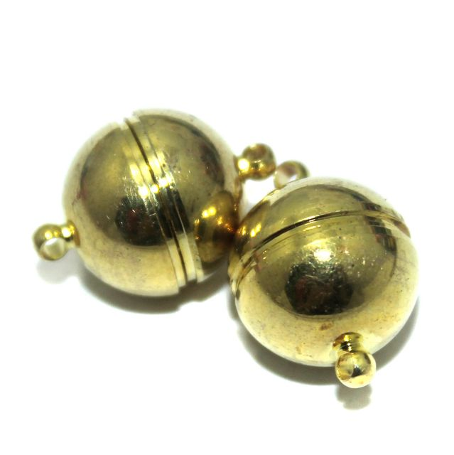 Magnetic Clasps, Size 22x14.5mm, Pack of 10 Pcs