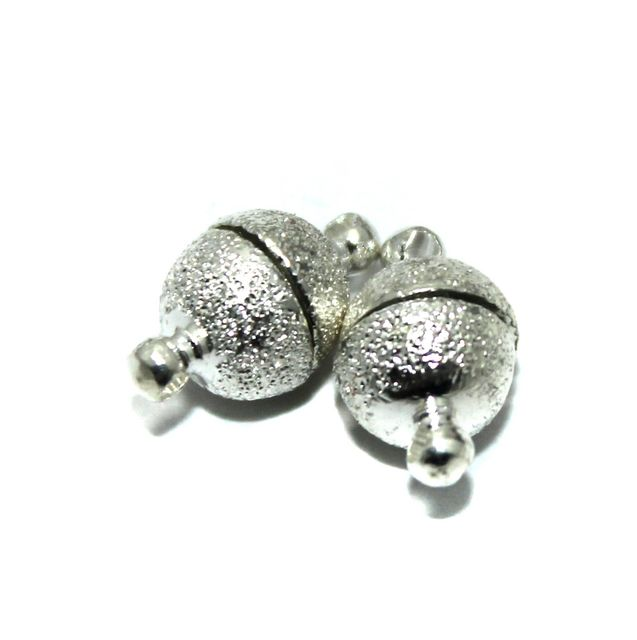 Magnetic Clasps, Size 14x8mm, Pack of 20 Pcs