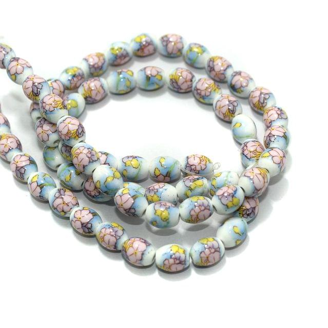 Premium Multicolor Ceramic Beads 2 Strings