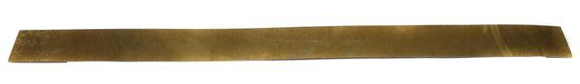 500 Gm 29 Gauge Brass Craft Sheet 1 Inch Wide and 14 Inch Long