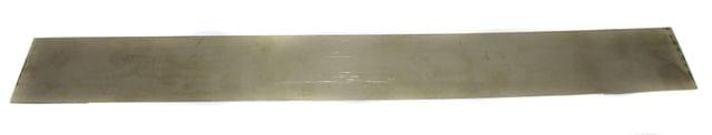 500 Gm 26 Gauge German Silver Craft Sheet 2 Inch Wide and 16 Inch Long