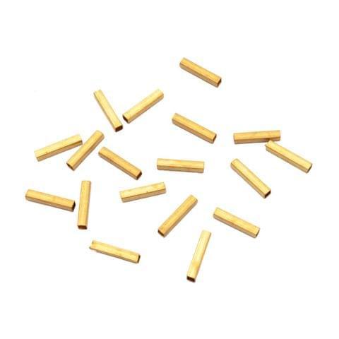 Foppish Mart Elongated Golden Danglers/ Beads