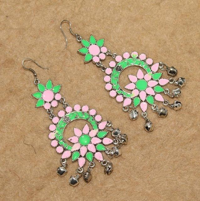 Multicolored Afghani Earrings