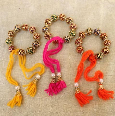 Beaded Multicolor Bracelets Combo