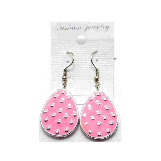 Fashion Earring For Girls Baby Pink
