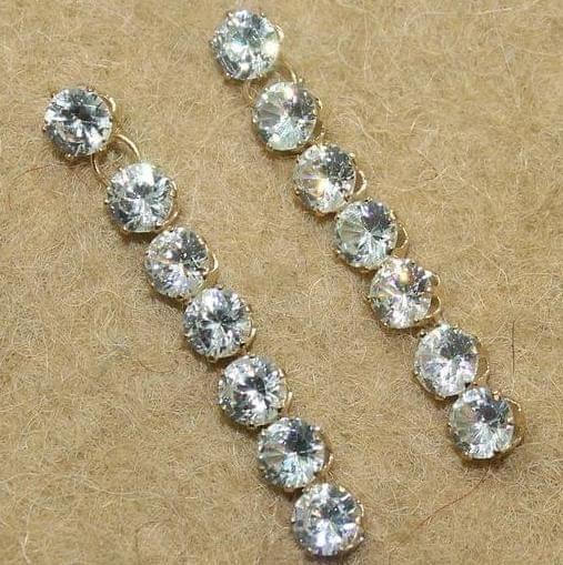 Austrian Stone Oxidised Earring