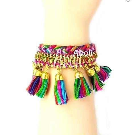 Tassels Bracelet Multicoloured