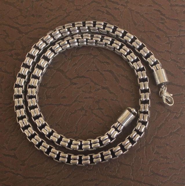German Silver Box Chain Gold