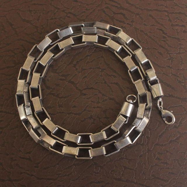 German Silver Linked Designer Chain