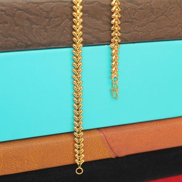 Gold Plated Designer Chain