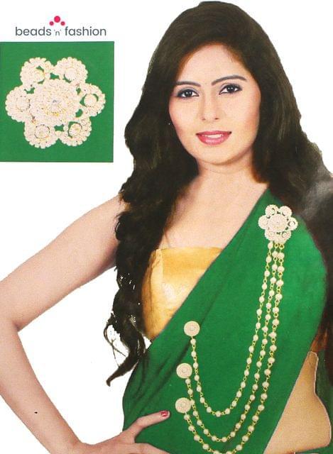 AD Stone Saree Chain