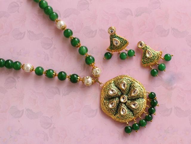 Kundan Green Set