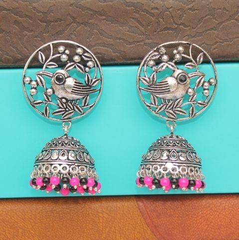German Silver Jhumka Earring