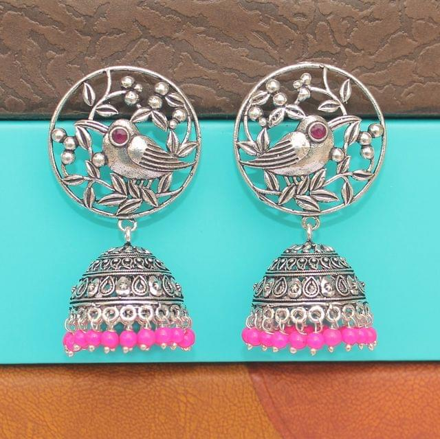 German Silver Jhumka Earring