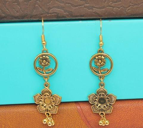 Gold Plated German Silver Earring