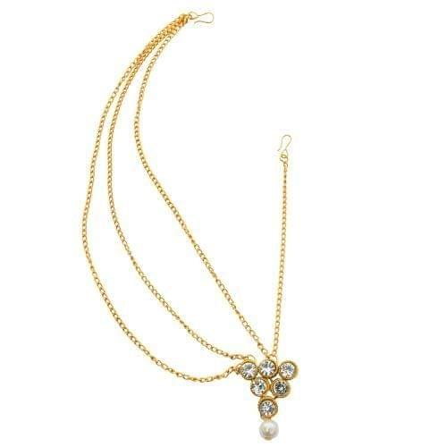 Foppish Mart Stylish Golden Half Maathapathi For Women