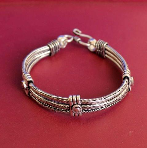 German Silver Trendy Bracelet