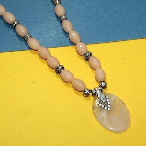 Designer Handmade Faceted Beaded Necklace Set