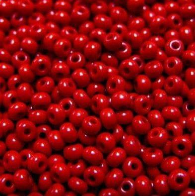 Preciosa Seed Beads Opaque Maroon 93190 (6`0)