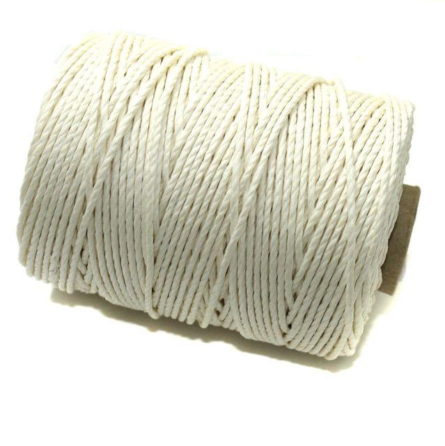 100 Mtrs. Jewellery Making Hemp Cord White 2mm