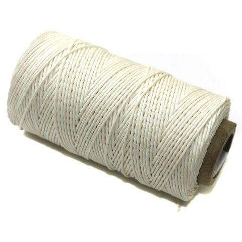 100 Mtrs. Jewellery Making Hemp Cord White 1mm
