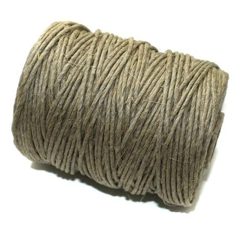 100 Mtrs. Jewellery Making Hemp Cord Natural 2mm