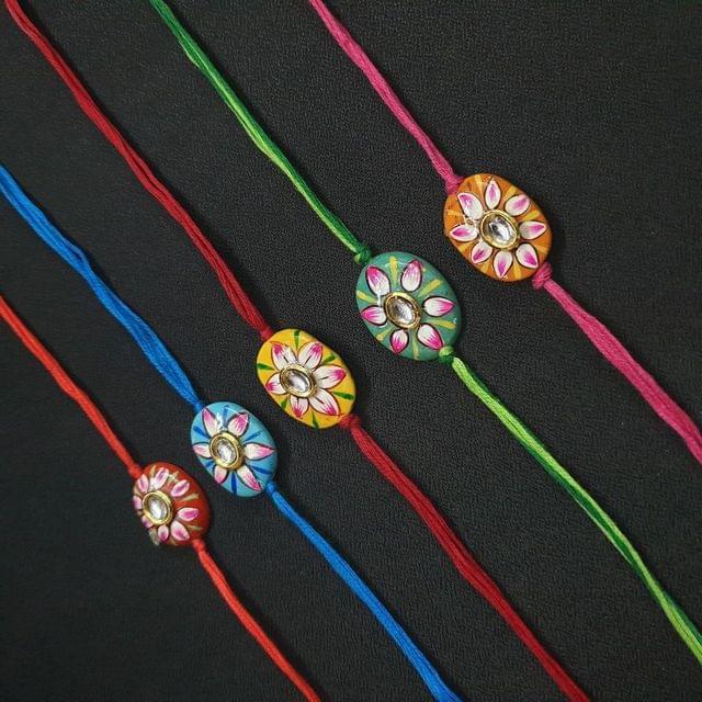 Designer Rakhi Pack Of 5