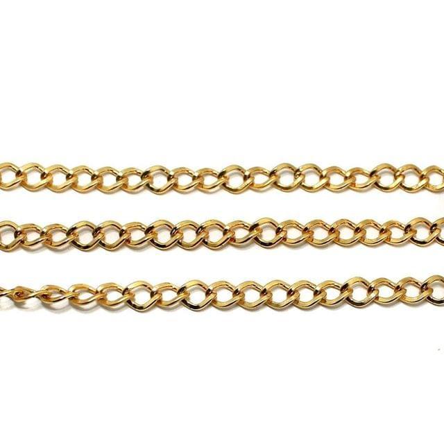 1 Mtr Exterder Chain Golden