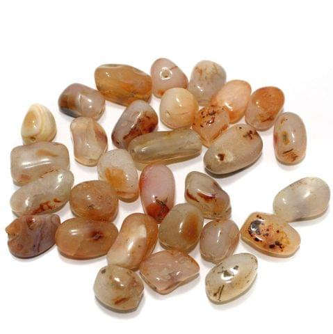 100 Stone Beads Assorted Size / Shape 12x24mm