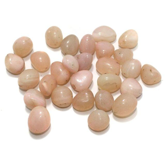 100 Stone Beads Assorted Size / Shape 15x19mm