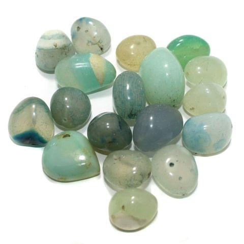 100 Stone Beads Assorted Size / Shape 13x24mm