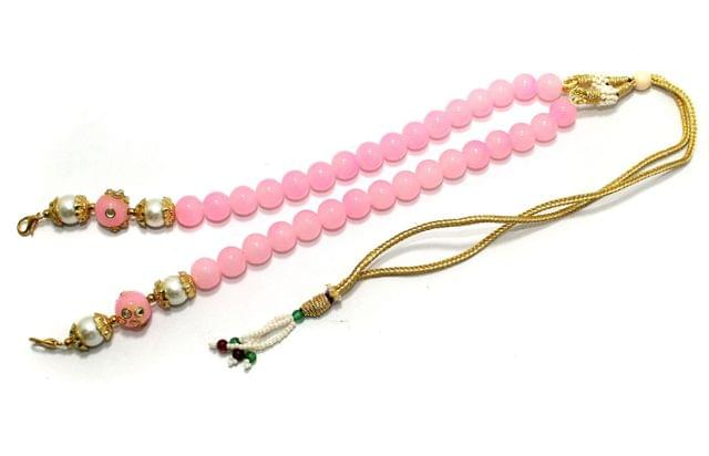 1 Pc Beaded Necklace Dori Pink
