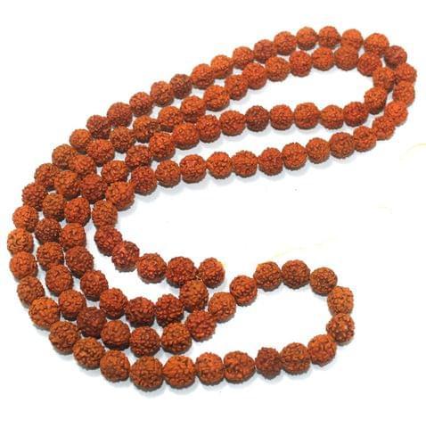 109 Beads Wooden Rudraksh Beads Mala 11mm