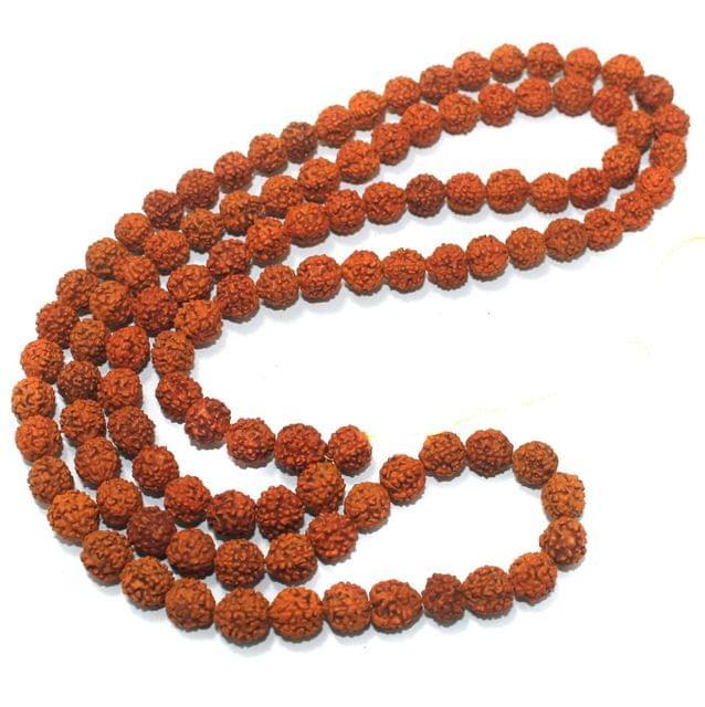 109 Beads Wooden Rudraksh Mala 11mm