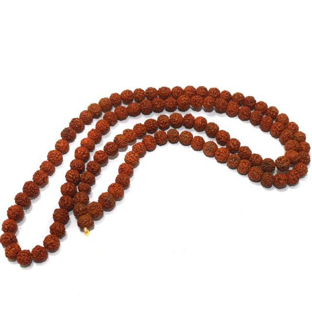 109 Beads Wooden Rudraksh Beads Mala 7mm