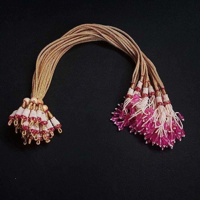 1 Dozen, 12 Inch Pink Necklace Dori (Sarafa)