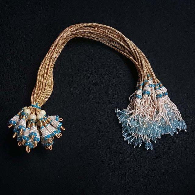 1 Dozen, 12 Inch Turquoise Necklace Dori (Sarafa)